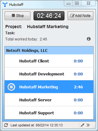 time tracking for windows
