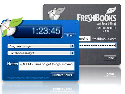 Freshbooks mac time tracking