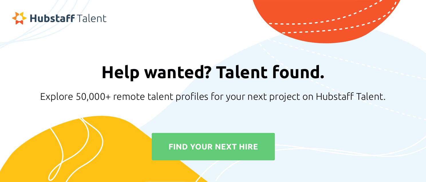 explore freelance profiles on Hubstaff Talent