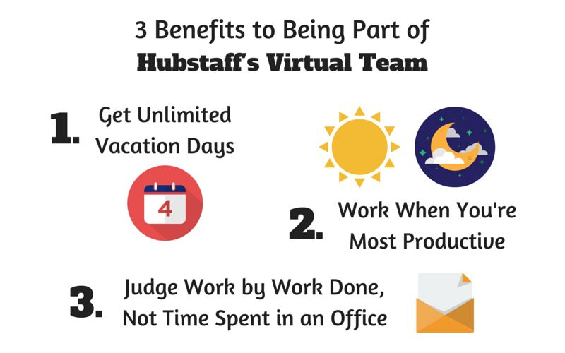 benefits of being a part of a remote team