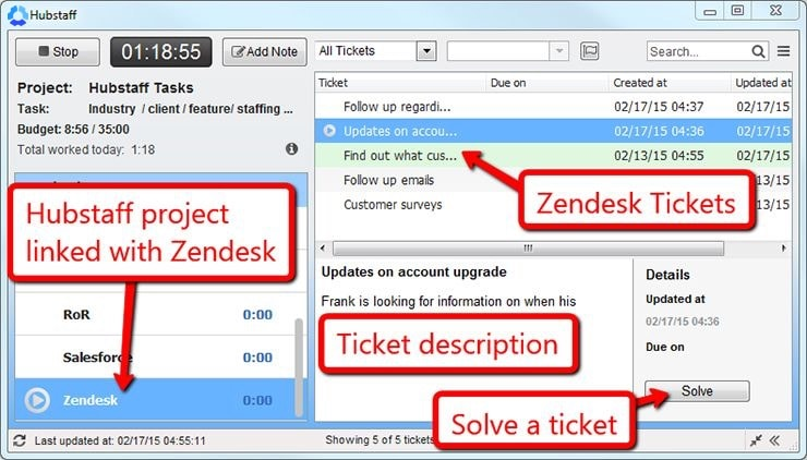 Zendesk Time Tracking: Track Time Spent Solving Tickets