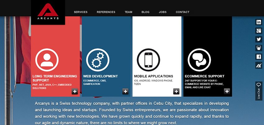 Arcanys | Affordable Web Design: 10 Awesome Developers in the Philippines