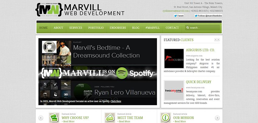 Marvill | Affordable Web Design: 10 Awesome Developers in the Philippines