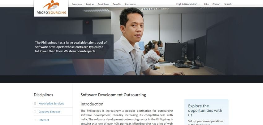 MicroSourcing | Affordable Web Design: 10 Awesome Developers in the Philippines