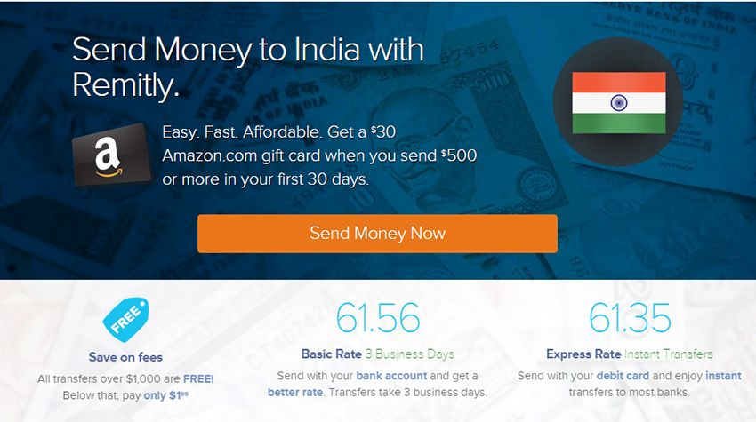 Remitly Top Options For The Best Money Transfer To India