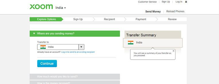 Xoom Top Options For The Best Money Transfer To India