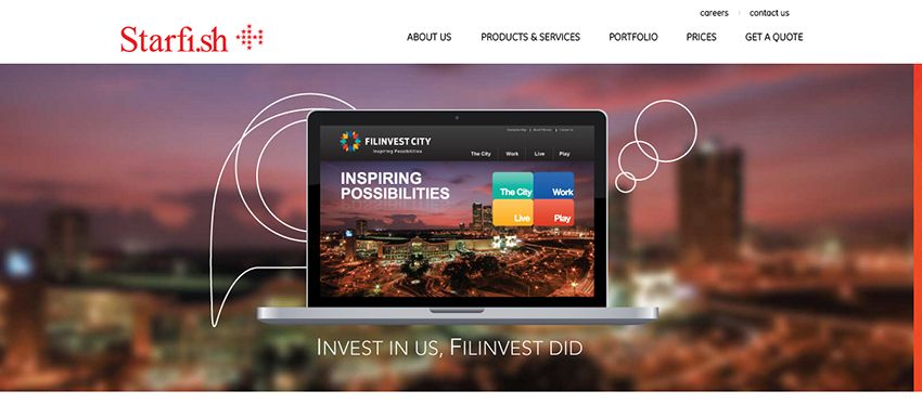 Starfish   Affordable Web Design: 10 Awesome Developers in the Philippines