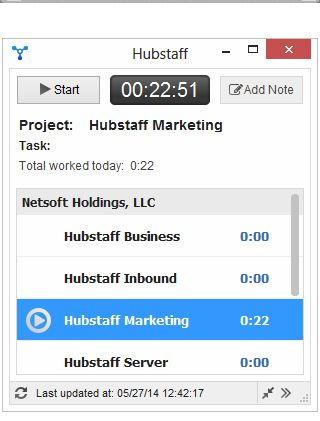 Hubstaff | The Best 5 Time Tracking Apps for Windows
