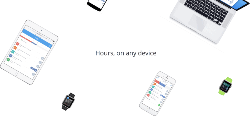 Hours Mobile Time Tracking App