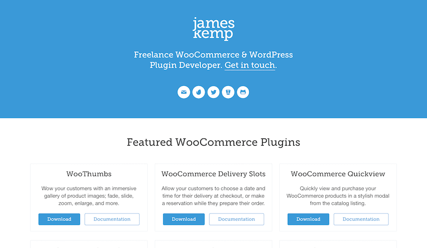 James Kemp Freelance WordPress Developer