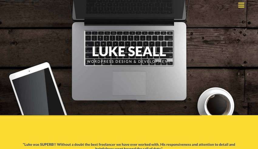 Luke Seall Freelance WordPress Developer