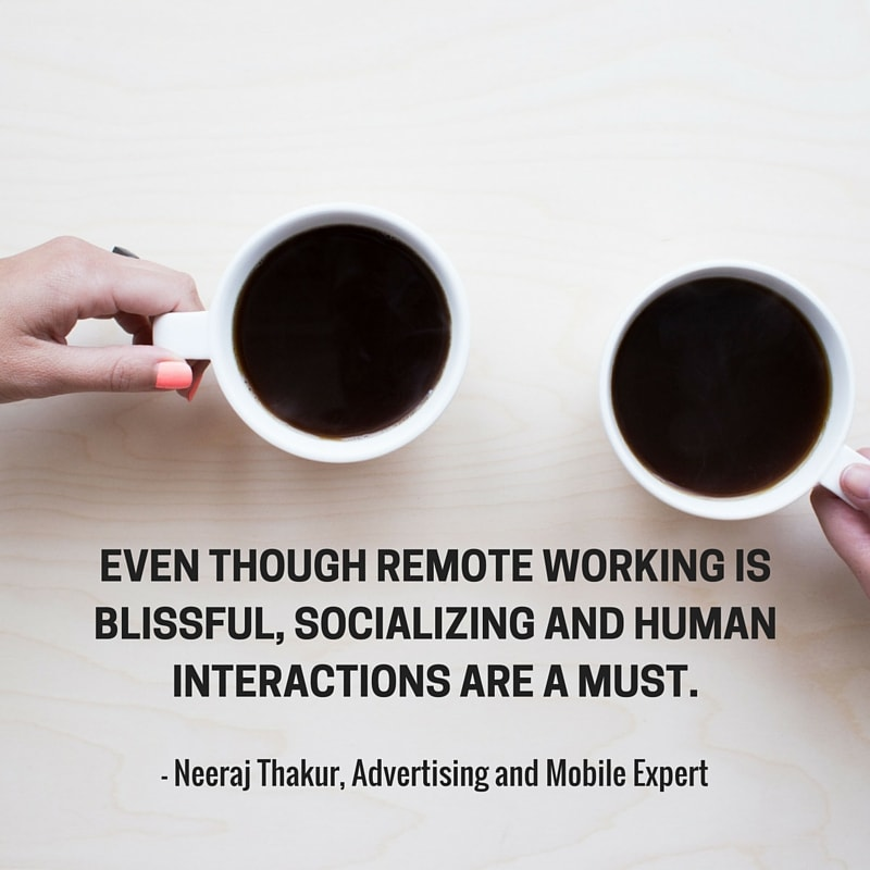 Neeraj quote | Updating our Sharing Strategy Got Us 230% More Visitors from Social Media