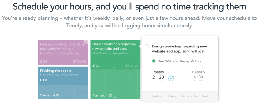 Timely Time Tracking App