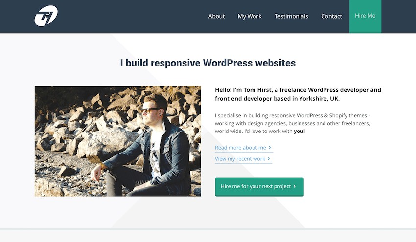 Tom Hirst Freelance WordPress Developer