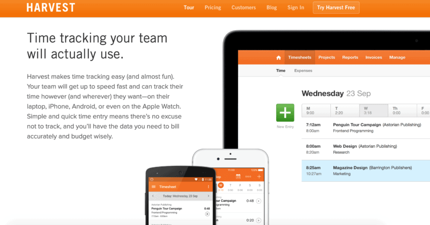 The Best Time Tracking App For Android Tools Compared - Invoice tracking app