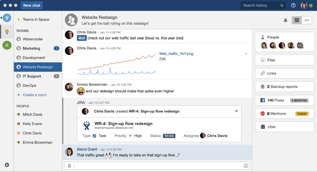 HipChat for Building Trust in Remote Teams