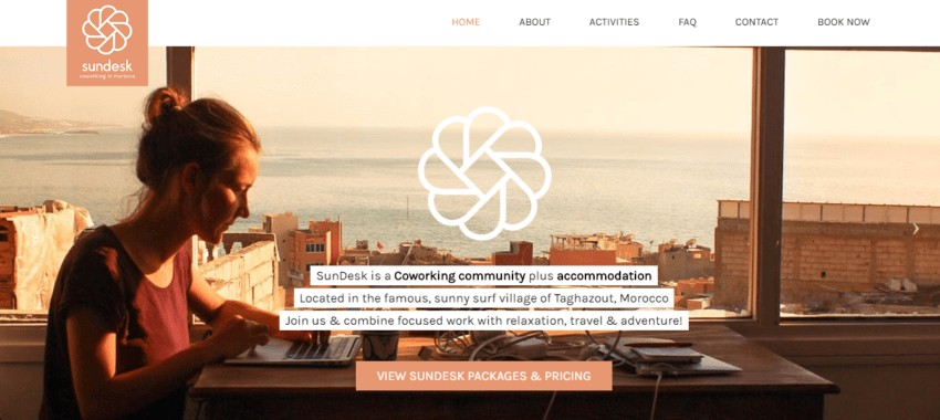 SunDesk | Remote Work Retreats that Let You Travel and Work at the Same Time