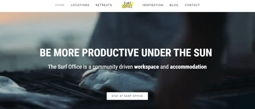 Surf Office | Remote Work Retreats that Let You Travel and Work at the Same Time