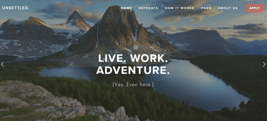 Unsettled | Remote Work Retreats that Let You Travel and Work at the Same Time