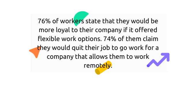 Employees with work flexibility are more loyal