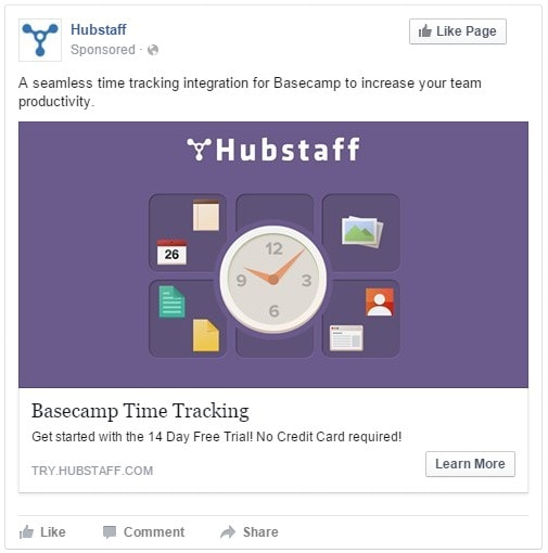 Basecamp Facebook Ad Growth Post