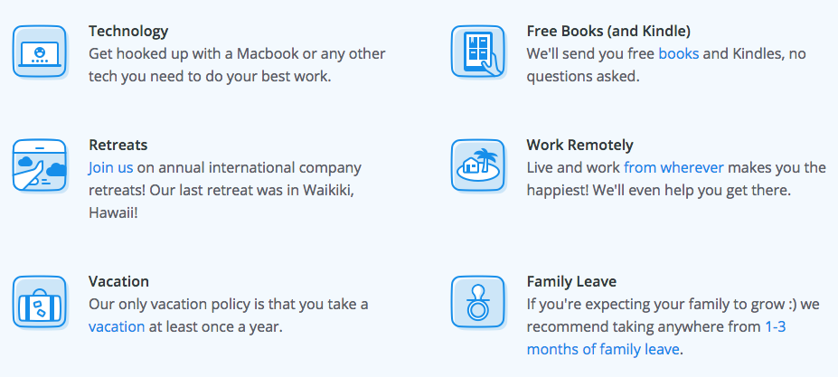benefits of working remote at Buffer