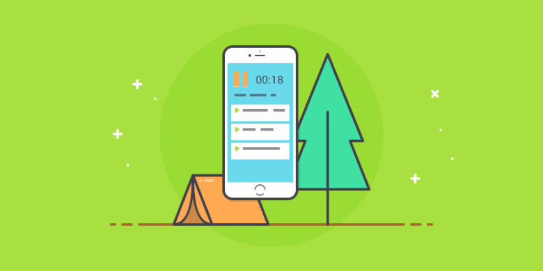 Camping in the Woods and the Value of Mobile Time Tracking