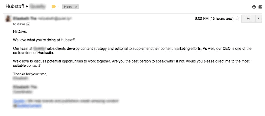 how not to write en email