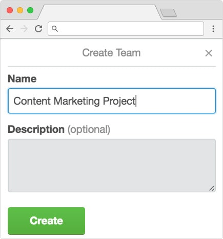Creating a content marketing project in Trello