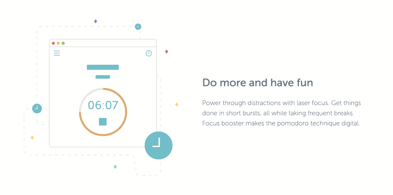Focus Booster timer app