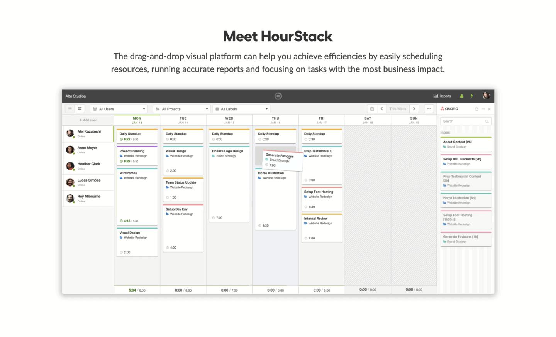 HourStack online timer