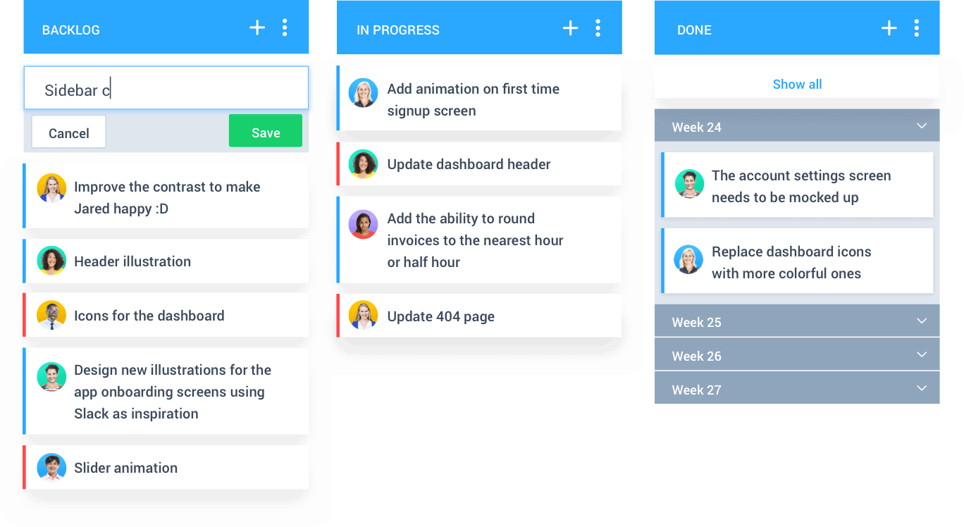 hubstaff tasks agile project management tool - screenshot