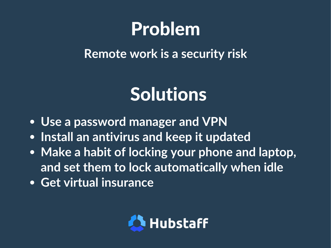 security risk remote