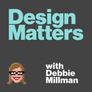 design matters podcast cover art