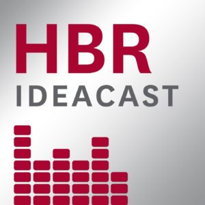 HBR ideacast podcast cover art