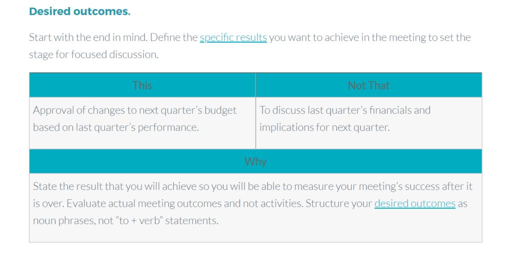 meeting agenda template from meeteor