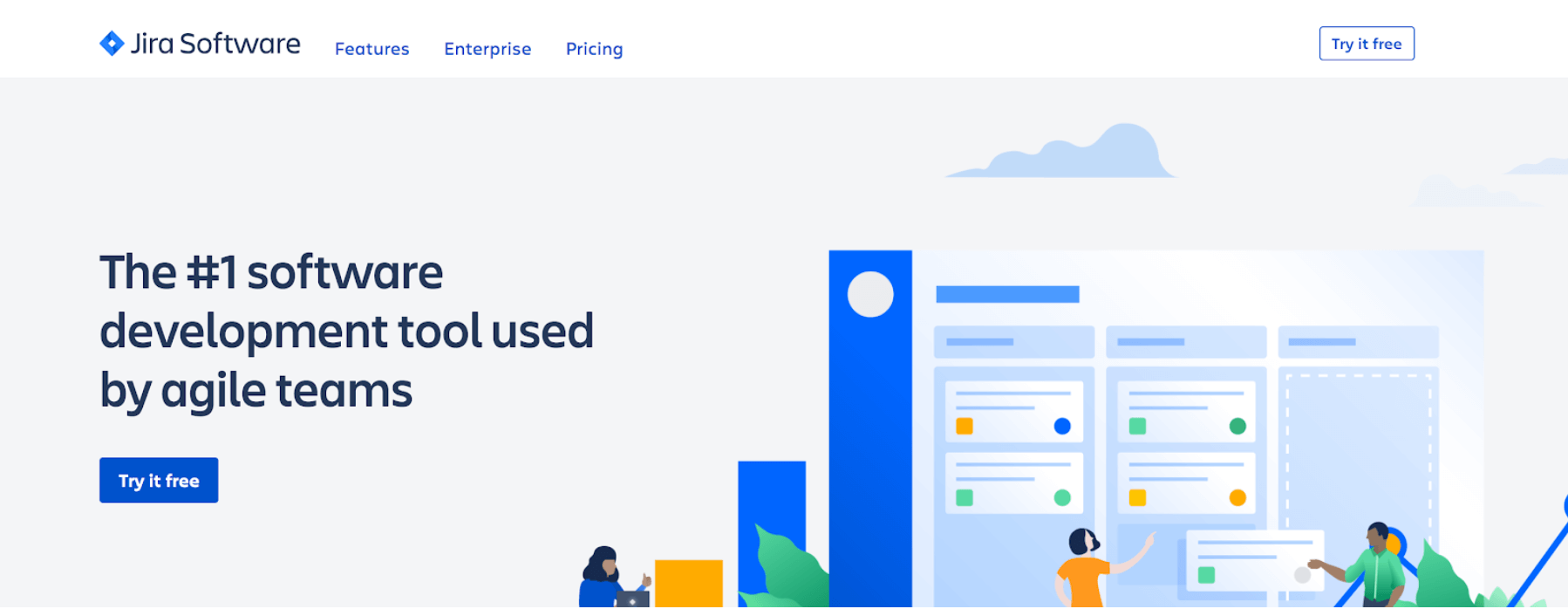 jira software homepage