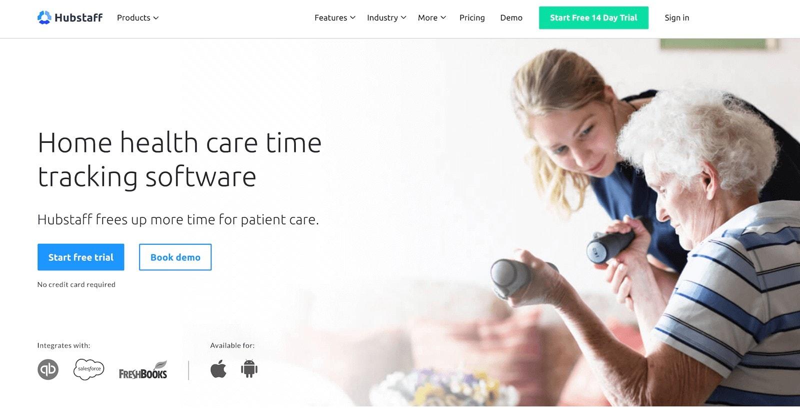hubstaff home health care software