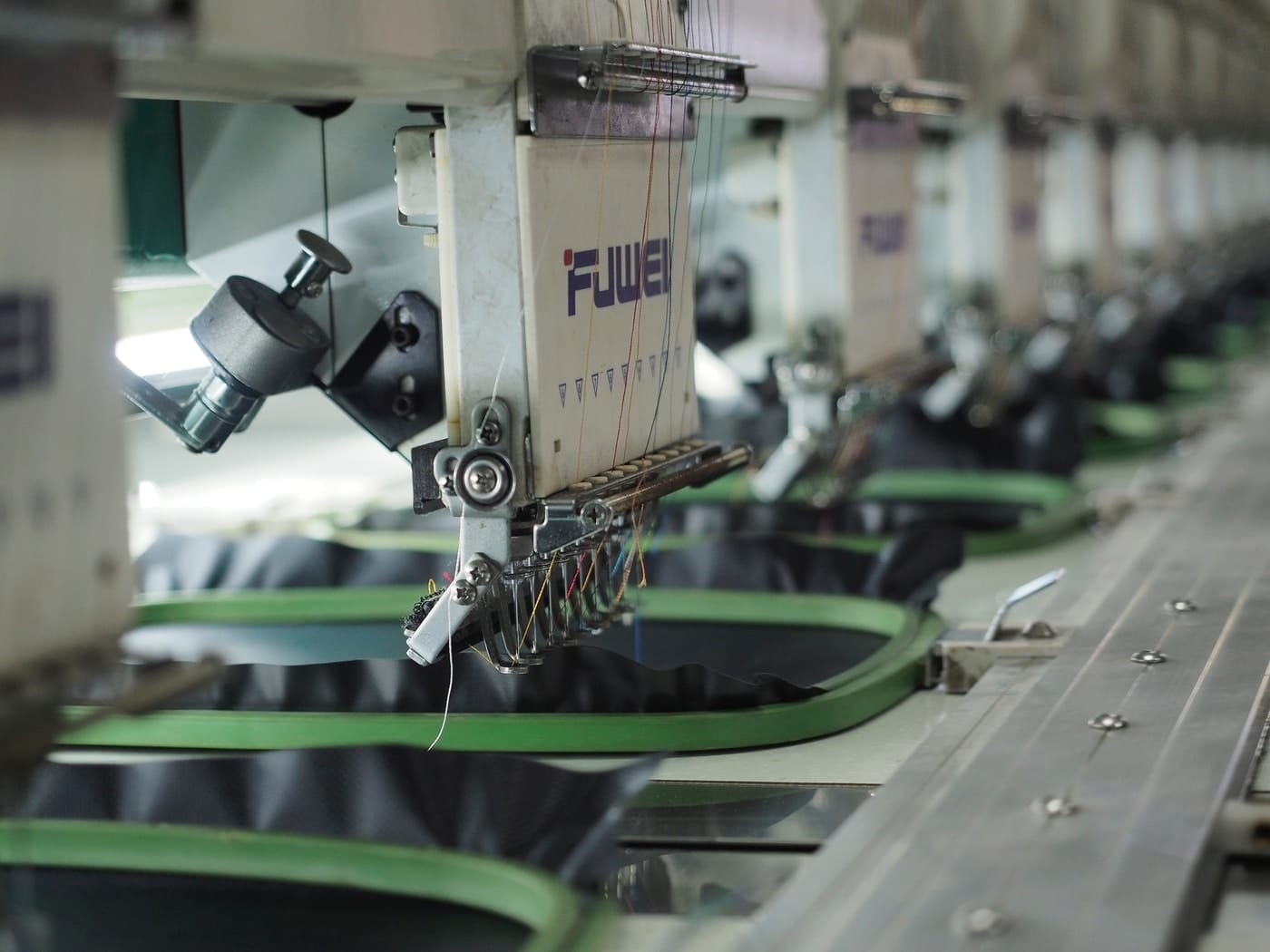 machinery in use on a manufacturing floor