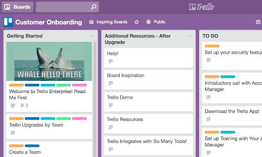trello boards for sales teams example