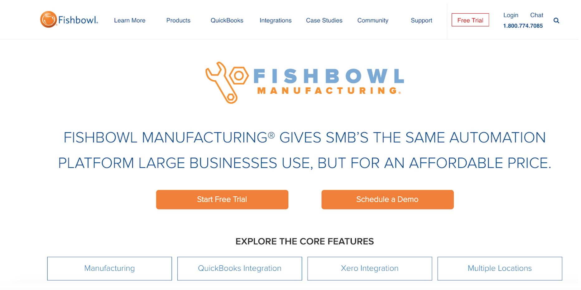 fishbowl manufacturing software