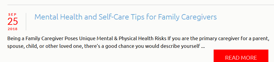 marketing health care agency blog example