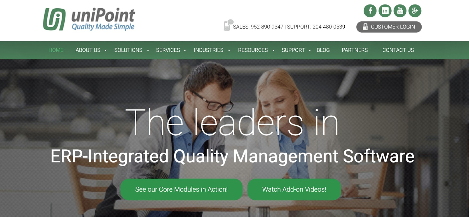 unipoint manufacturing software