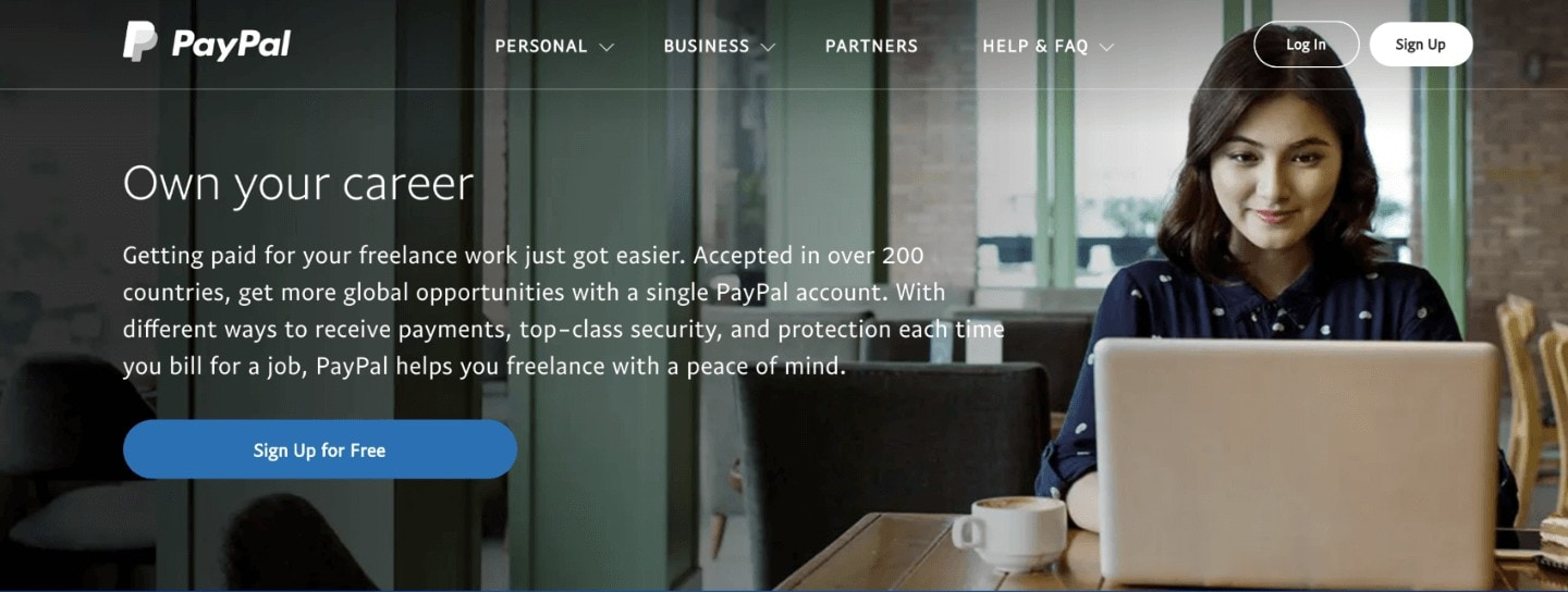 PayPal for freelancers
