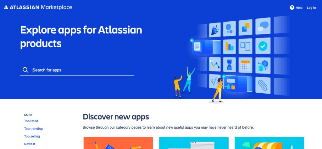 Altassian Marketplace Screenshot