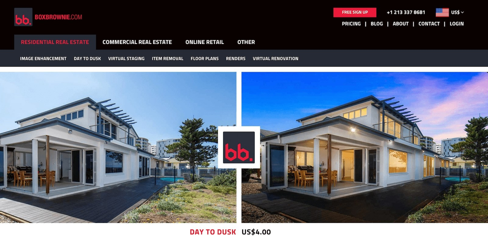 boxbrownie photo app for real estate