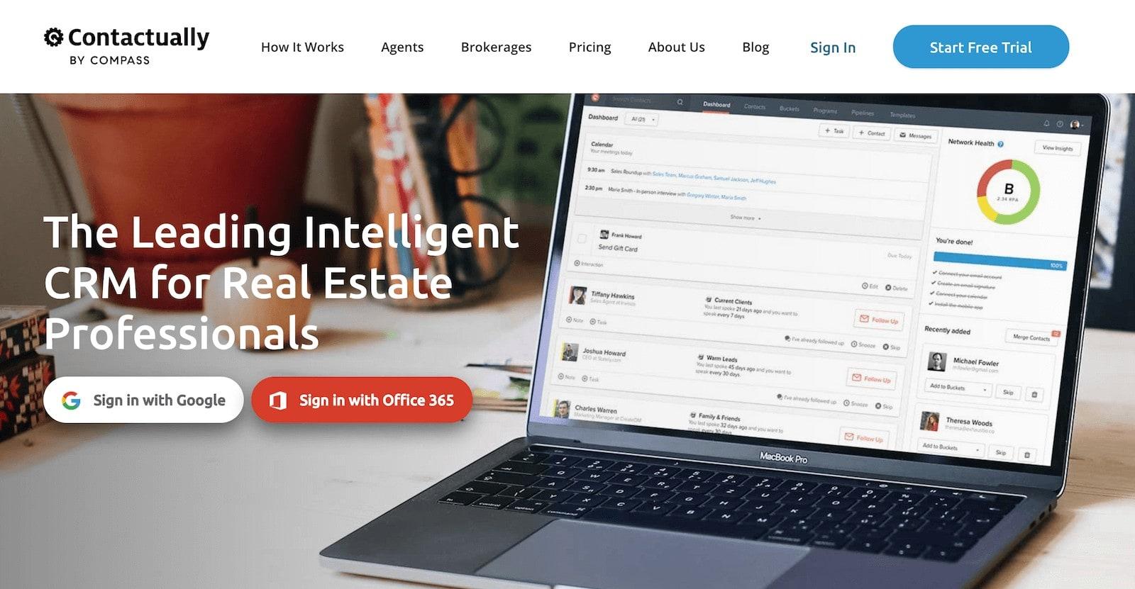contactually app for real estate