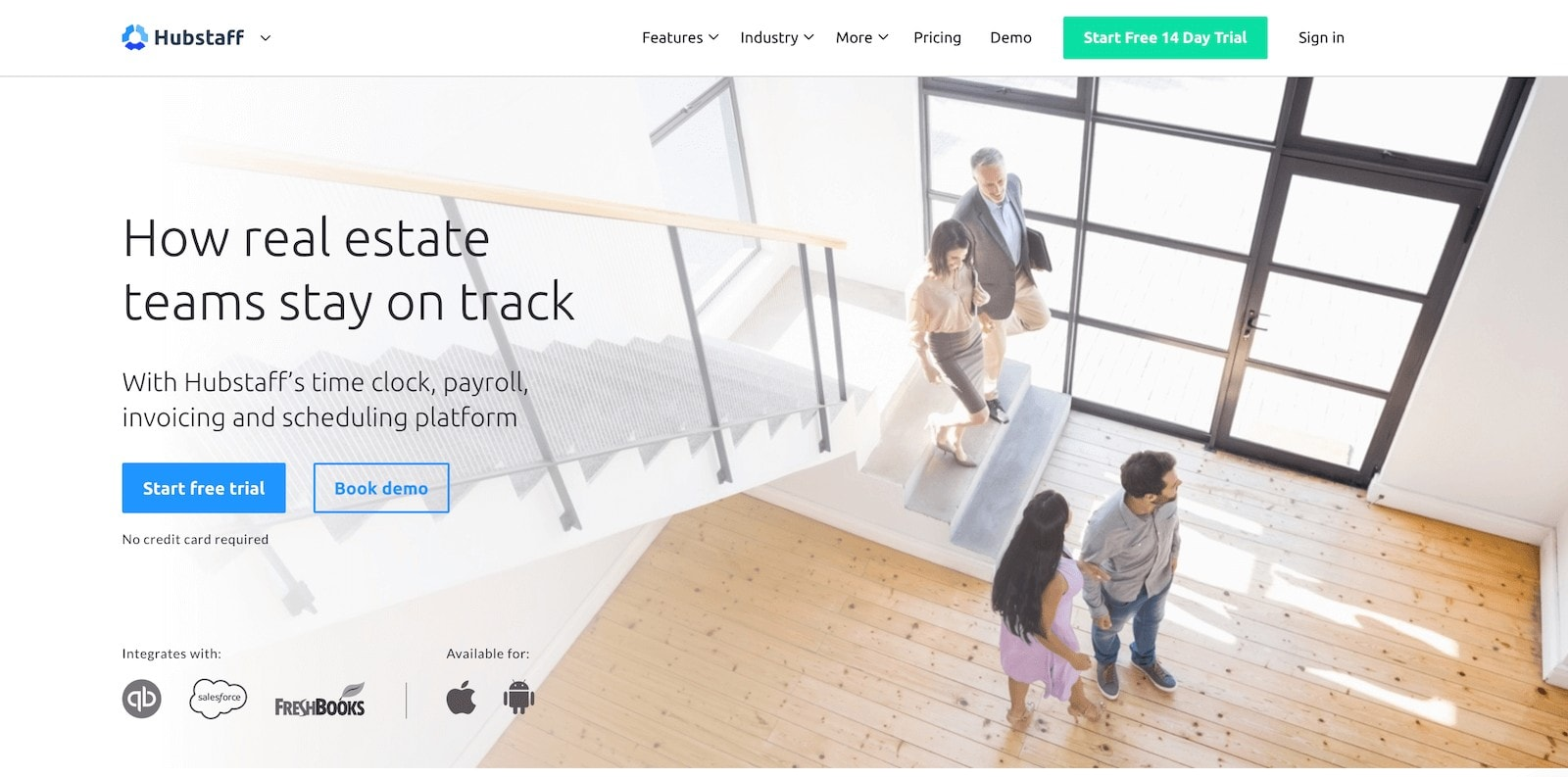 hubstaff time tracking for real estate