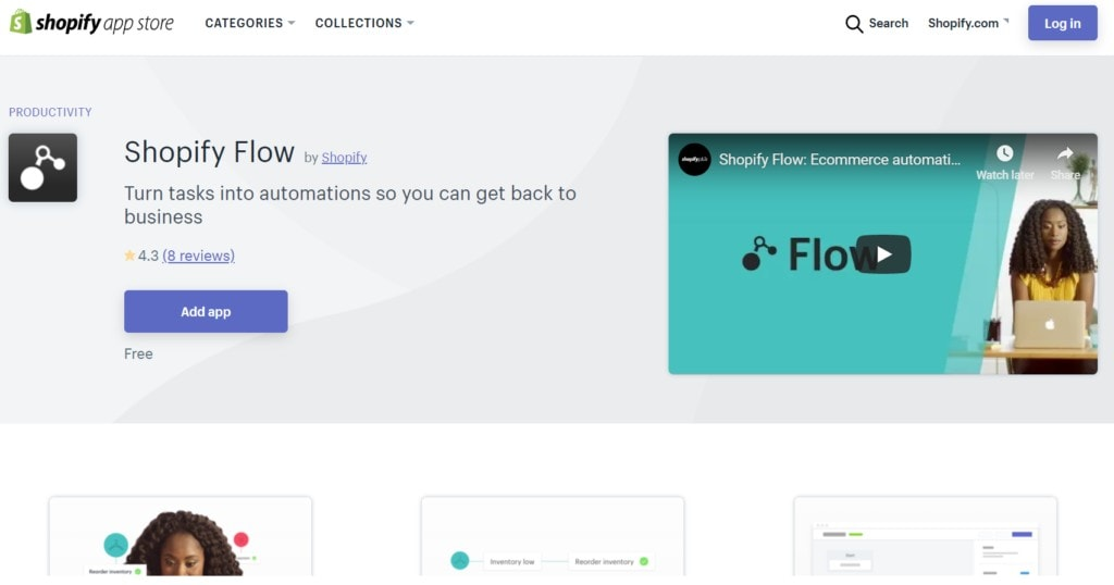 shopify-flow-ecommerce-automation-with-Hubstaff