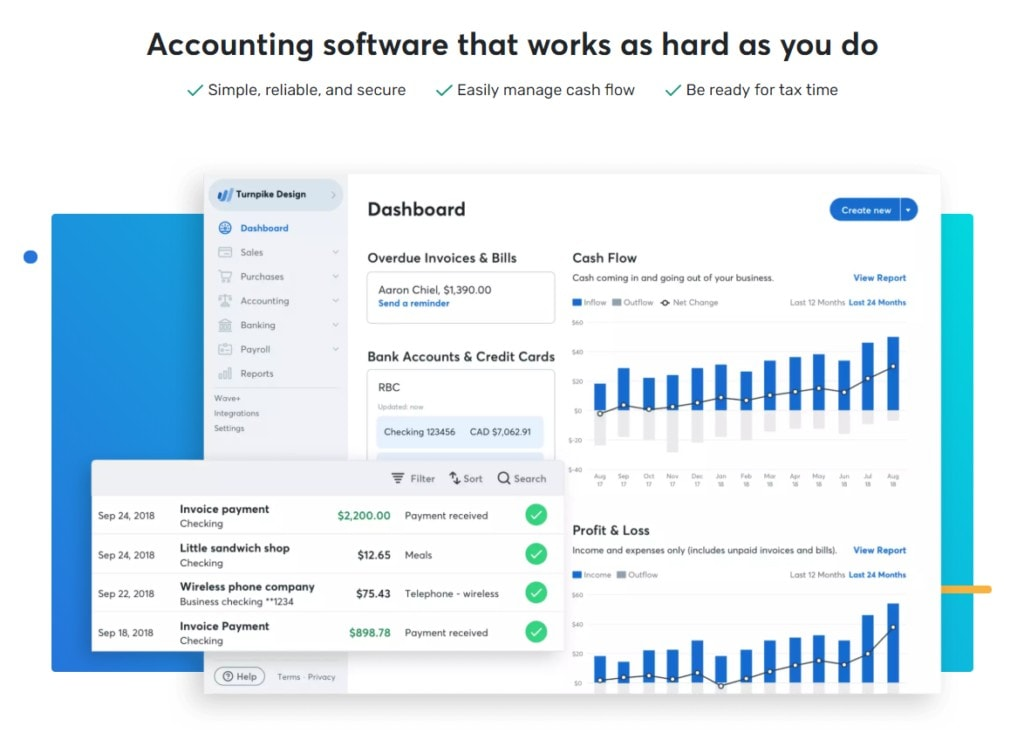 wave-accounting-ecommerce-automation-with-Hubstaff